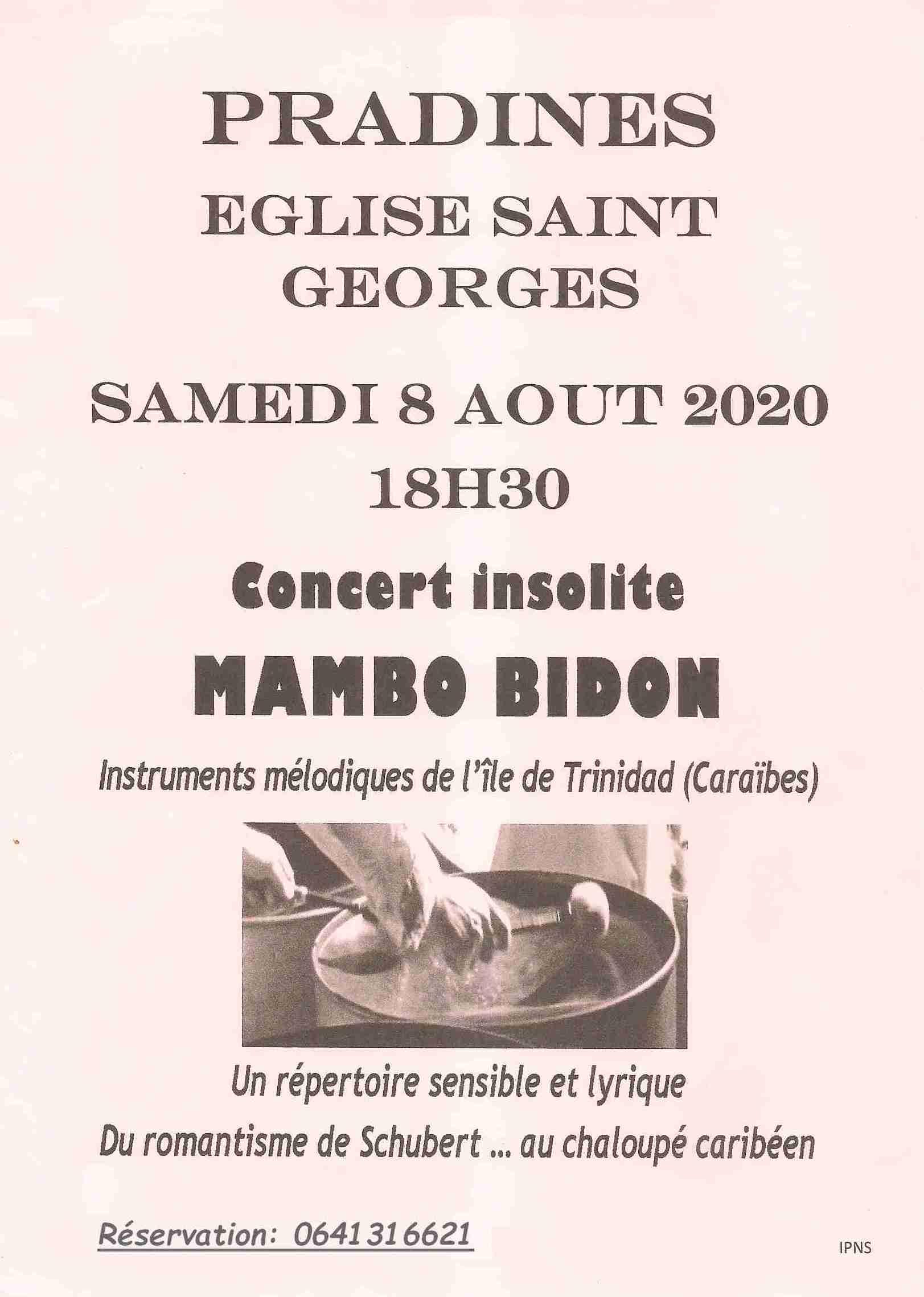 Concert 08-07-20 Pradines