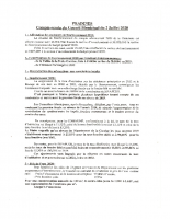 Réunion conseil municipal 02-07-20